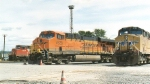 BNSF 7628 @ Delta Yard